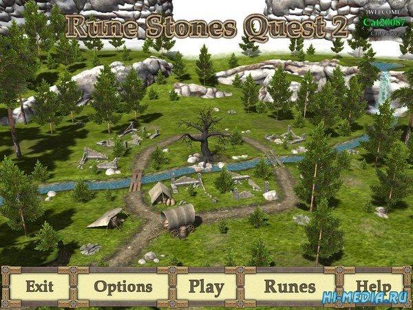 Rune Stones Quest 2 (2018) ENG