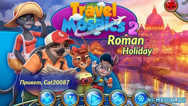 Travel Mosaics 2: Roman Holiday (2018) RUS