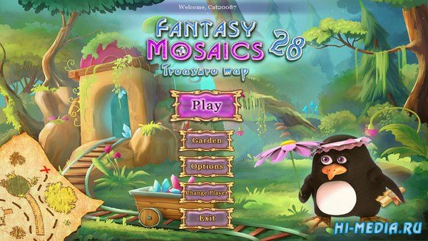 Fantasy Mosaics 28: Treasure Map (2018) ENG