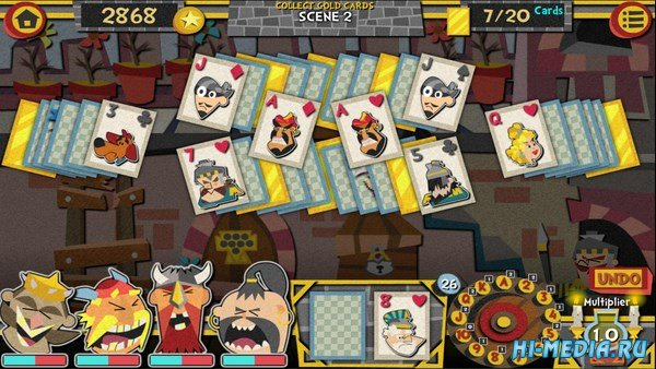 Solitaire Adventures of Valentin The Valiant Viking (2018) RNG
