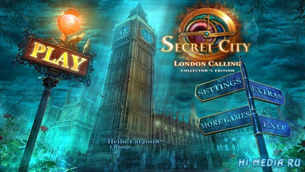Secret City: London Calling Collectors Edition (2018) ENG