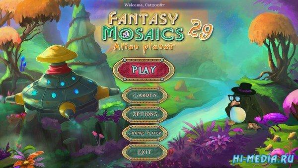 Fantasy Mosaics 29: Alien Planet (2018) ENG
