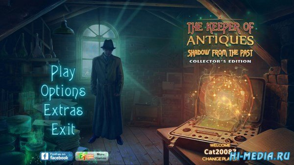 The Keeper of Antiques 4: Shadows From the Past Collector's Edition (2018) ENG