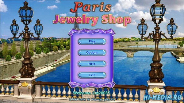 Paris Jewelry Shop (2018) ENG