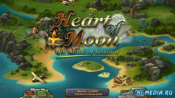 Heart of Moon The Mask of Seasons (2018) ENG
