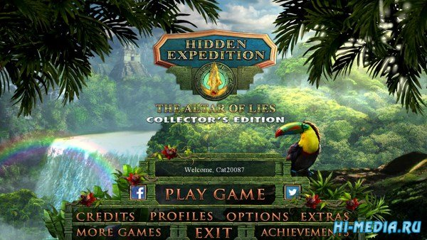Hidden Expedition 17: The Altar of Lies Collectors Edition (2018) ENG
