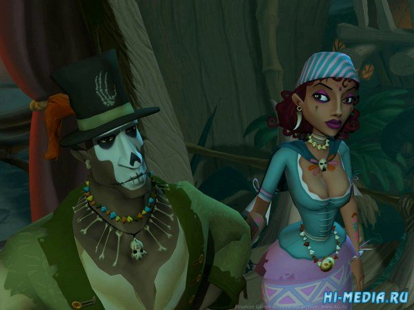 Ghost Pirates of Vooju Island (2009) RUS