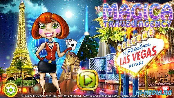 Travel Agency Magica: Las Vegas (2018) RUS