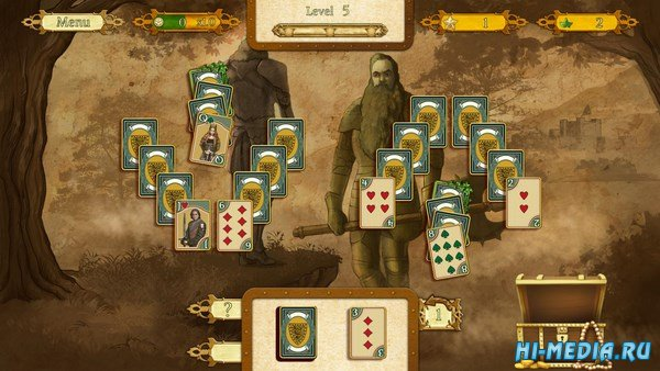 The Legend Of King Arthur Solitaire (2018) ENG