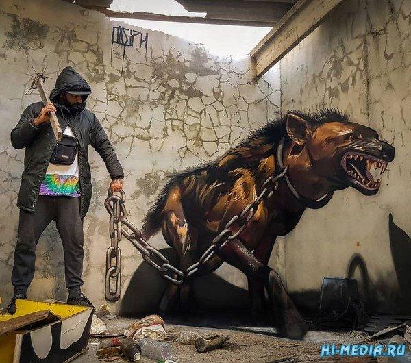 Удивительный стрит-арт Серхио Одейта