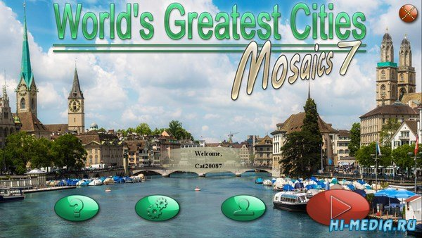 Worlds Greatest Cities: Mosaics 7 (2018) ENG