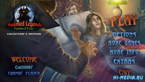 Haunted Legends 13: Twisted Fate Collectors Edition (2018) ENG