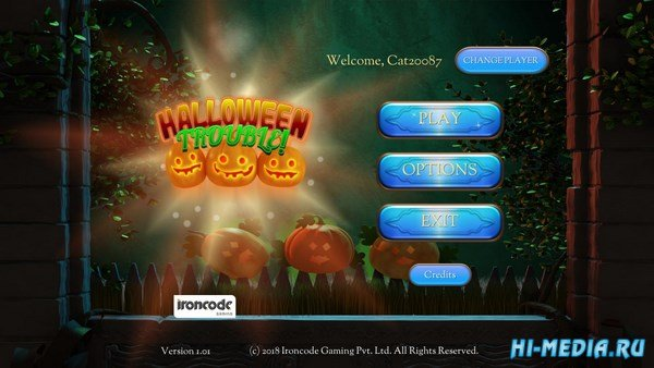 Halloween Trouble (2018) ENG