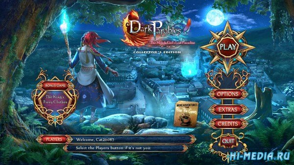 Dark Parables 15: The Match Girls Lost Paradis Collectors Edition (2018) ENG