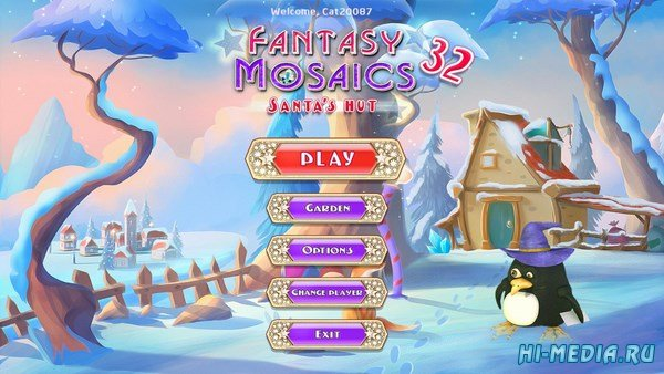 Fantasy Mosaics 32: Santa's Hut (2018) ENG