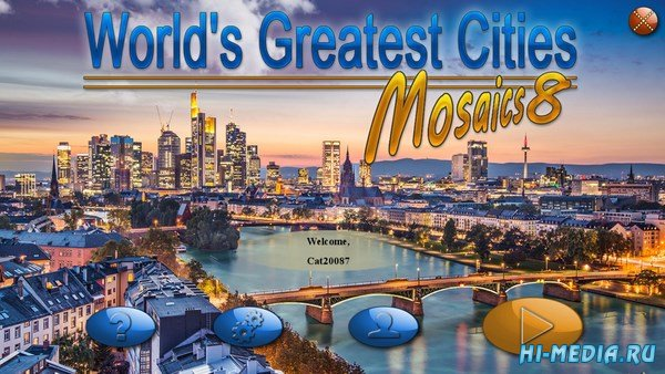 World's Greatest Cities Mosaics 8 (2018) ENG