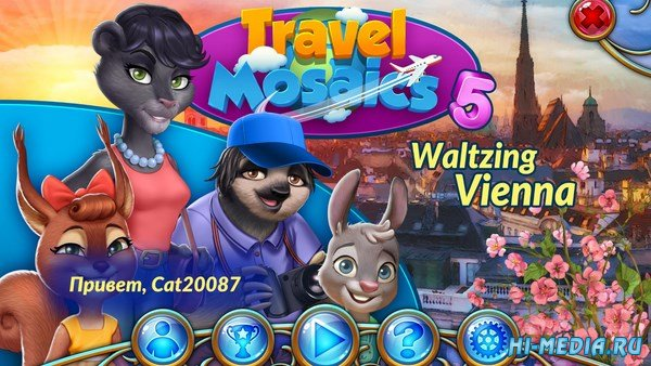 Travel Mosaics 5: Waltzing Vienna (2018) RUS