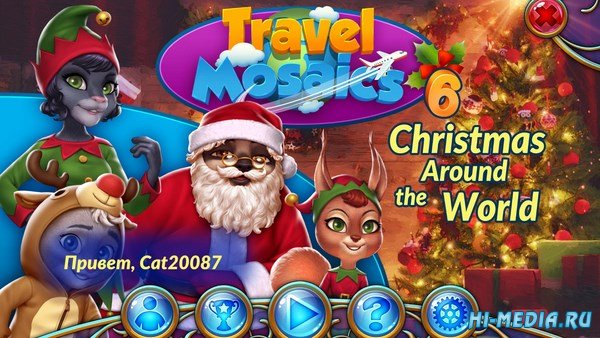 Travel Mosaics 6: Christmas Around the World (2018) RUS