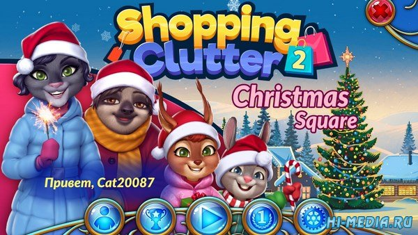 Shopping Clutter 2: Christmas Square (2018) RUS