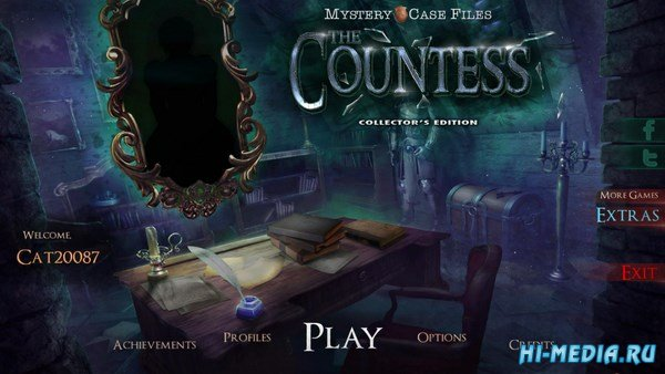 Mystery Case Files 18: The Countess Collectors Edition (2018) ENG