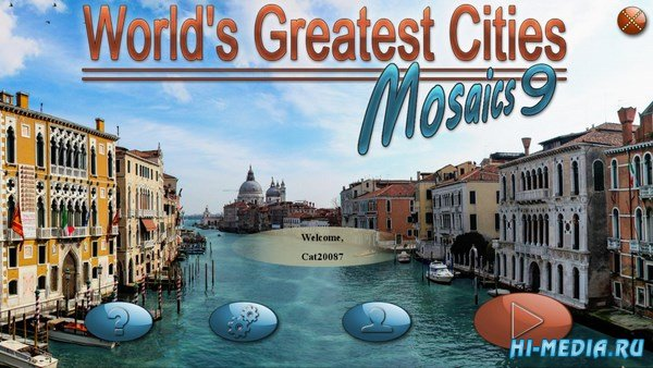 Worlds Greatest Cities Mosaics 9 (2018) ENG