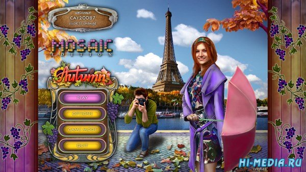 Autumn in France Mosaic Edition (2018) ENG