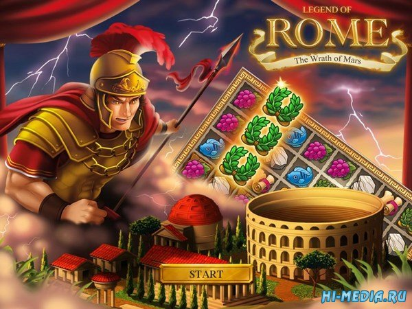 Legend of Rome: The Wrath of Mars (2018) ENG