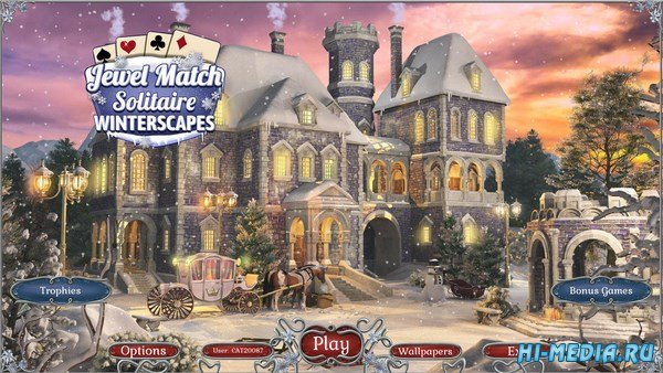 Jewel Match Solitaire: Winterscapes (2018) ENG