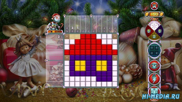 Rainbow Mosaics 10: Christmas Helper (2018) ENG