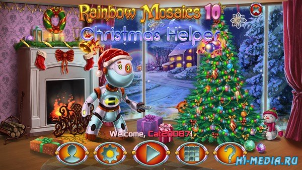 Rainbow Mosaics 10: Christmas Helper (2018) ENG