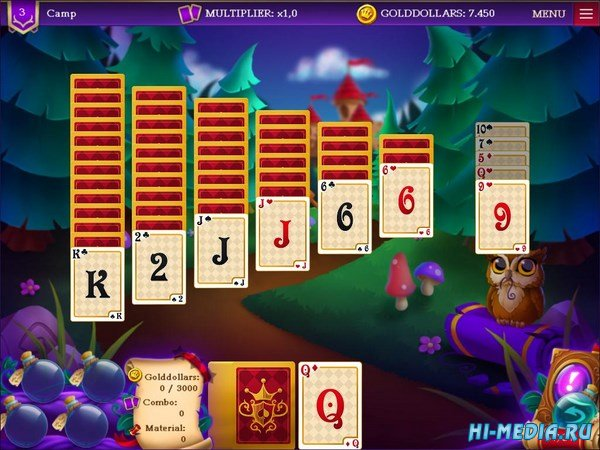 Wizard's Quest: Solitaire (2018) ENG