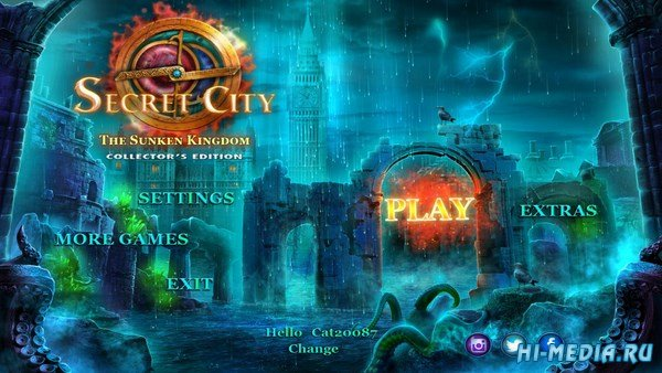 Secret City 2: The Sunken Kingdom Collector's Edition (2019) ENG