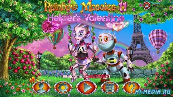 Rainbow Mosaics 11: Helper's Valentine (2019) ENG