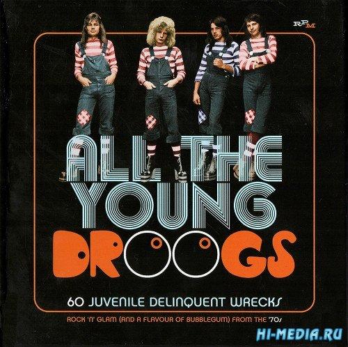 VA - All The Young Droogs: 60 Juvenile Delinquent Wrecks (2019) MP3