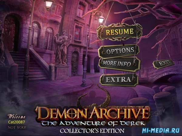 Demon Archive: The Adventure of Derek Collectors Edition (2015) ENG