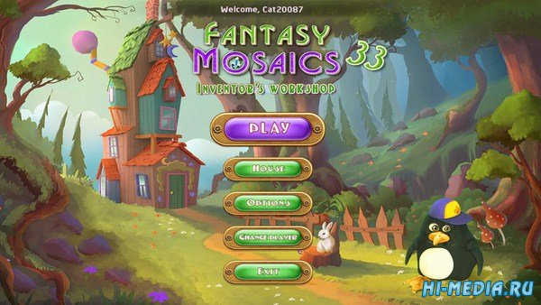 Fantasy Mosaics 33: Inventor's Workshop (2019) ENG