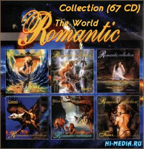 VA - The World of Romantic Collection (67 CD) (1995-2012) MP3