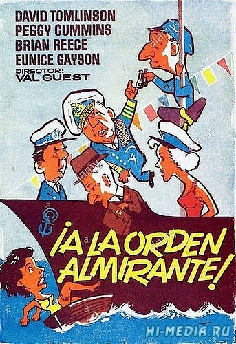 Так держать, адмирал / Carry on Admiral (1957) DVDRip