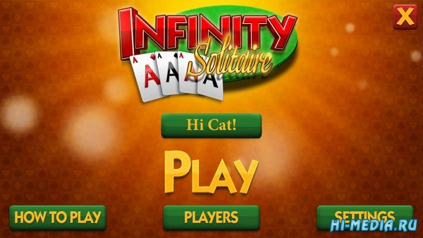Infinity Solitaire (2019) ENG