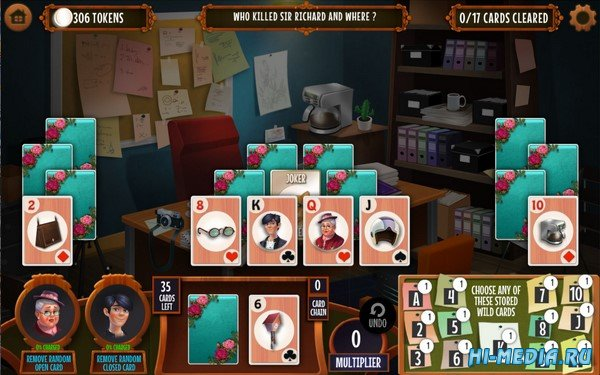 GO Team Investigates: Solitaire and Mahjong Mysteries (2019) ENG