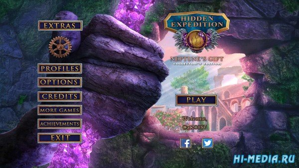 Hidden Expedition 18: Neptunes Gift Collectors Edition (2019) ENG