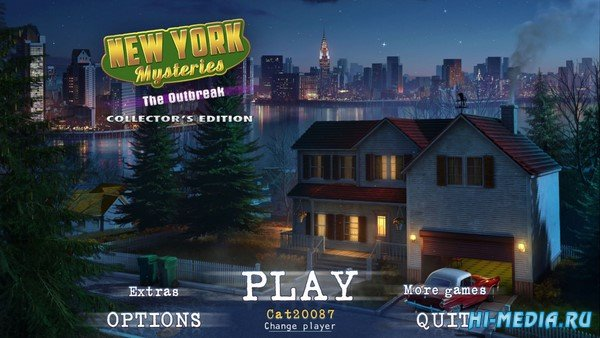 New York Mysteries 4: The Outbreak Collectors Edition (2019) ENG