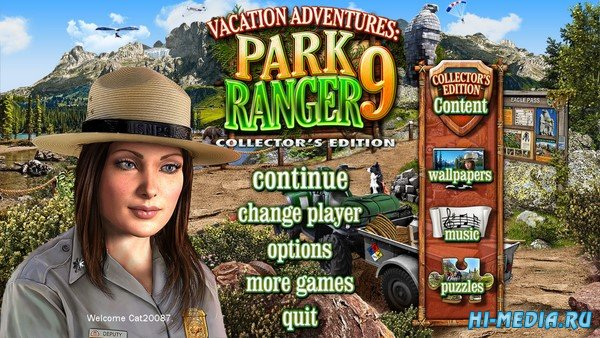 Vacation Adventures: Park Ranger 9 Collectors Edition (2019) ENG