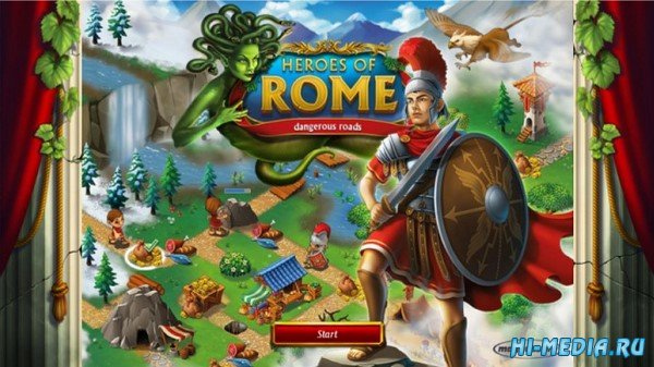 Heroes of Rome: Dangerous Roads (2019) ENG