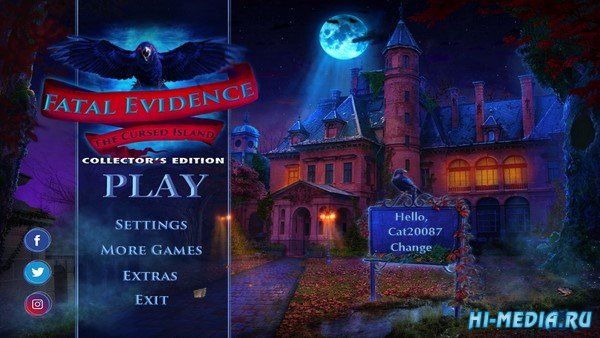 Fatal Evidence: The Cursed Island Collectors Edition (2019) ENG