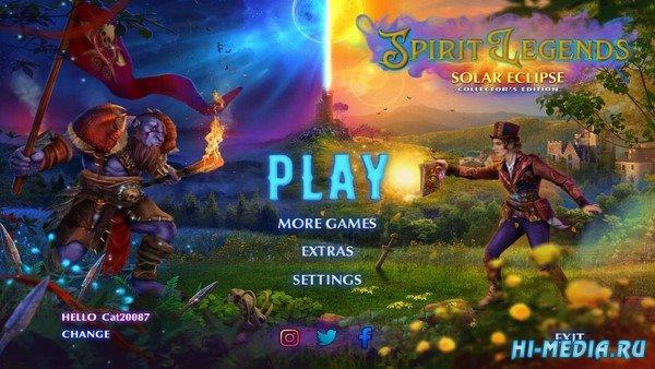 Spirit Legends 2: Solar Eclipse Collectors Edition (2019) ENG