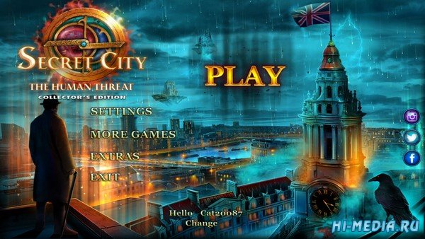 Secret City 3: The Human Threat Collectors Edition (2019) ENG