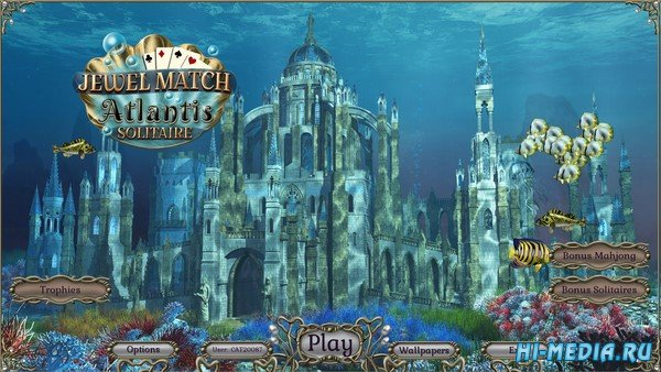 Jewel Match Atlantis Solitaire (2019) ENG