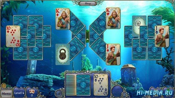 Jewel Match Atlantis Solitaire (2019) ENG