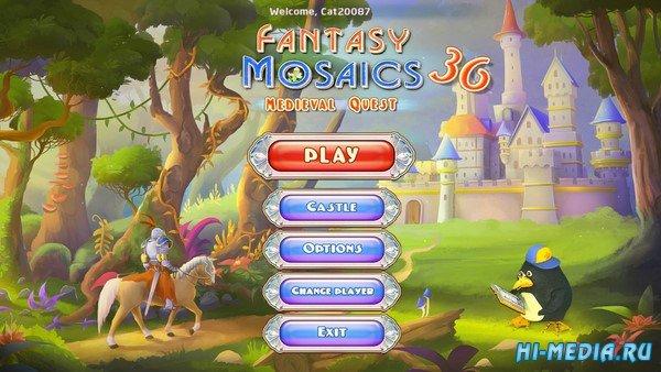 Fantasy Mosaics 36: Medieval Quest (2019) ENG